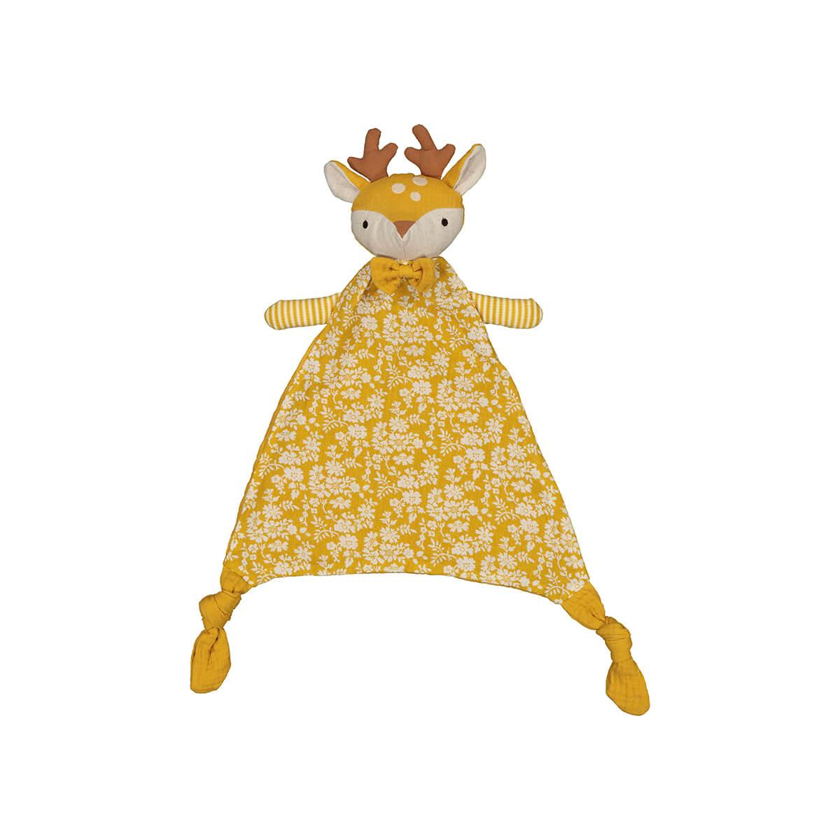 Flat Lay photography soft toys, yellow animal