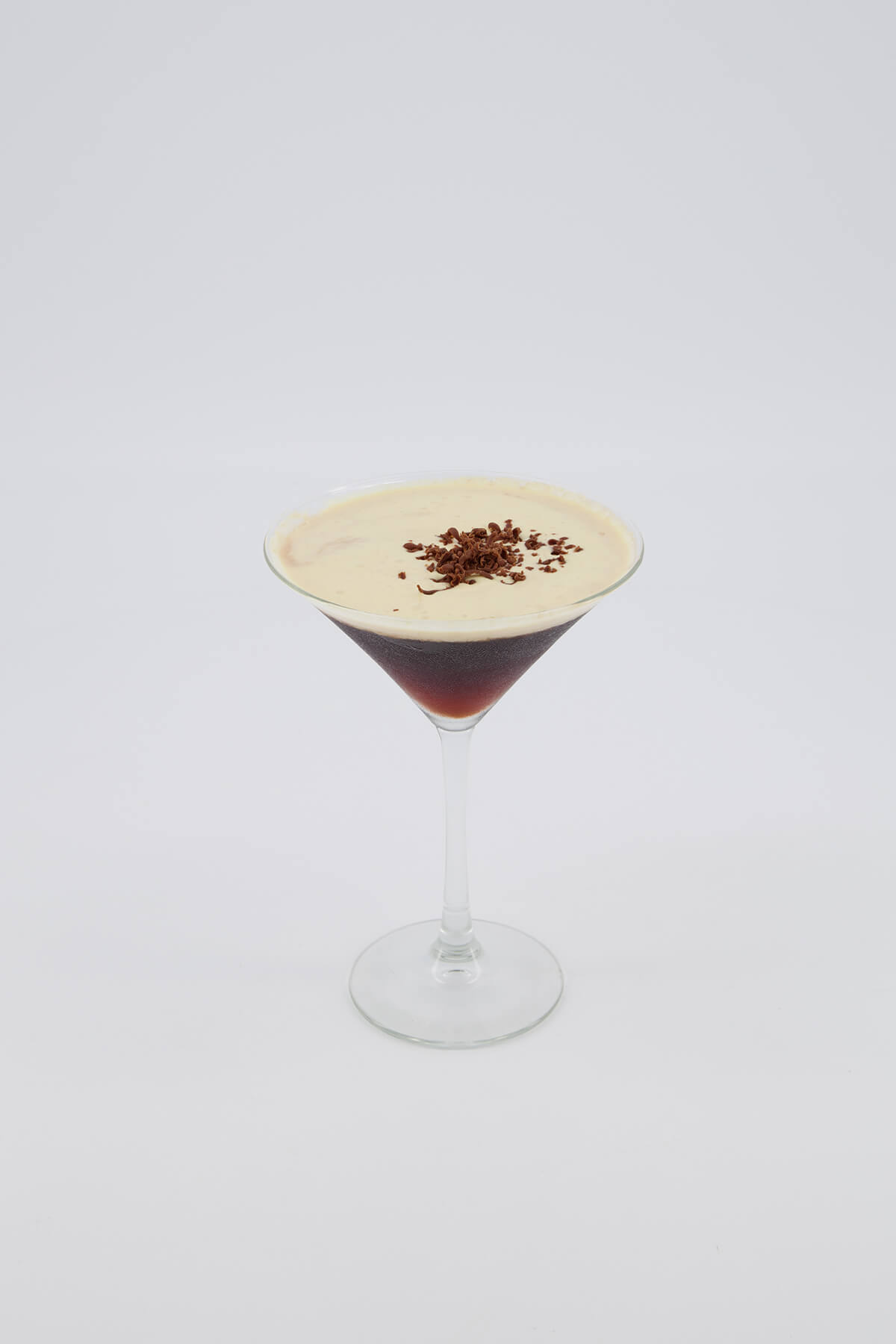 E-commerce photography of cocktails in studio