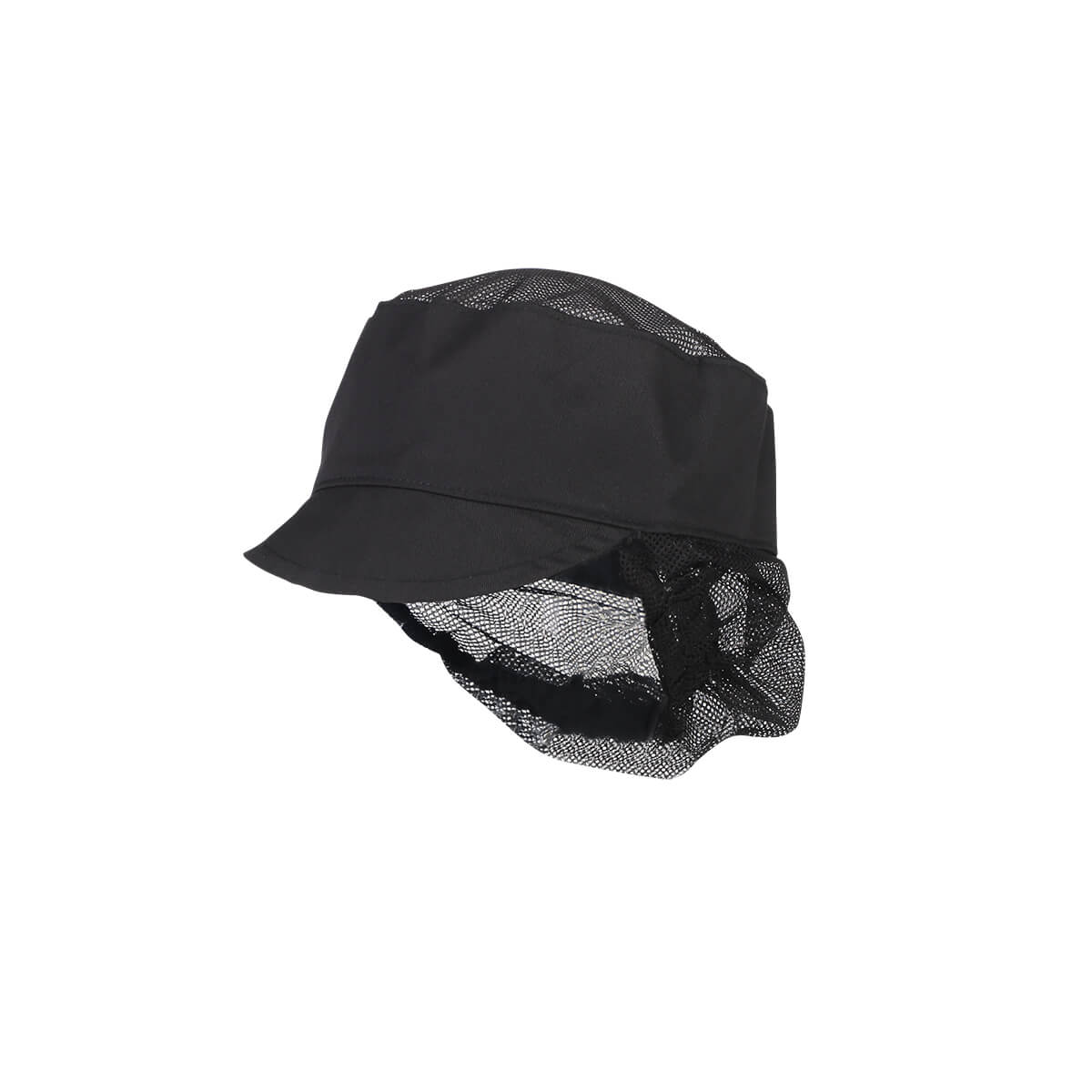 Hat with mask for kitchen - product photography side shot