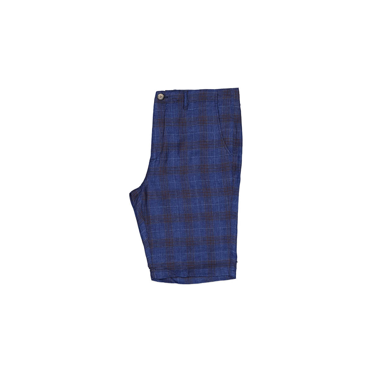 Blue checkered shorts from New Zealand menswear brand Working Style